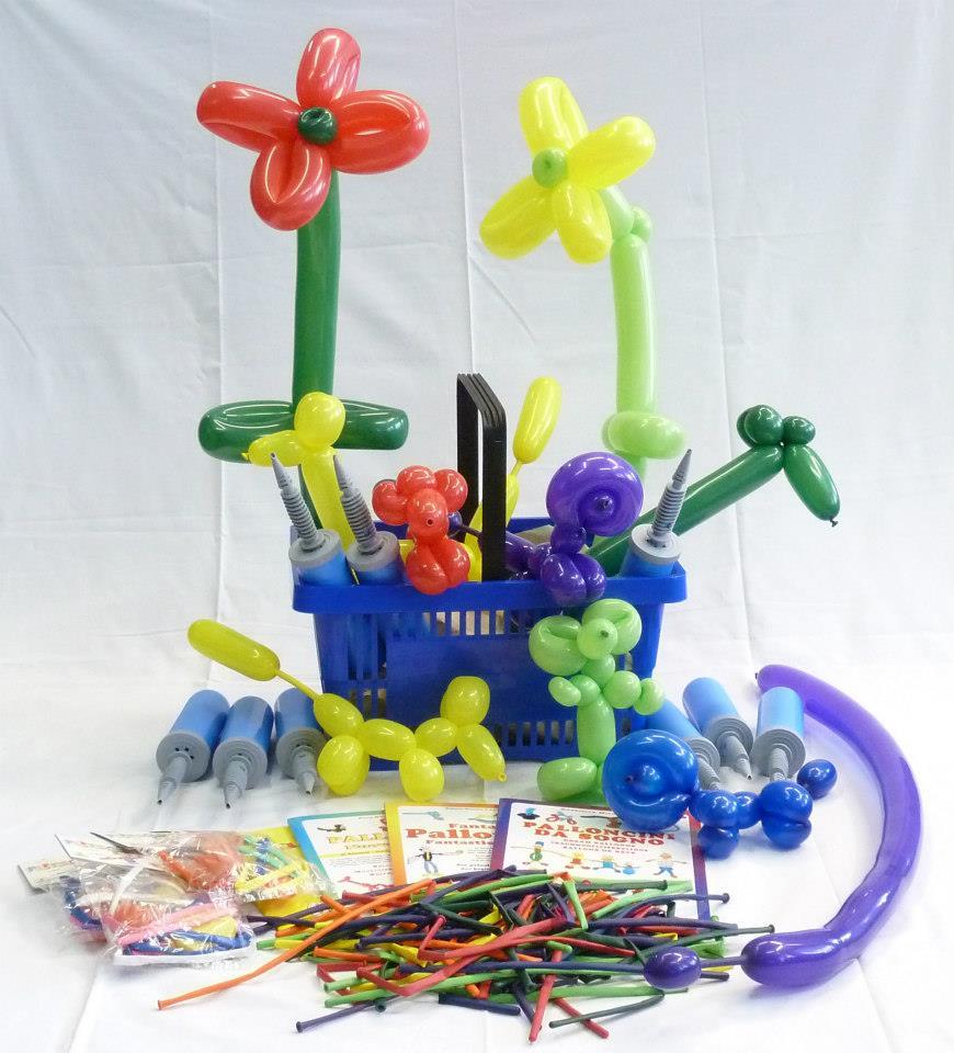 Modellierballonkiste